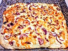 Langalló (házi kenyérlángos) | Szilvia Mária Kilecz receptje - Cookpad receptek Hawaiian Pizza, Food, Iphone Wallpaper, Essen, Meals, Yemek, Eten