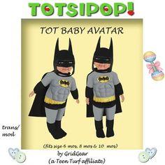 TOTSIPOP! TOT Baby Clothing Batman Set