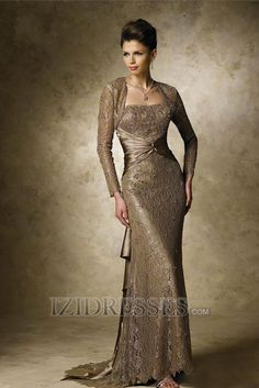 Trumpet/mermaid Strapless Mother Of The Bride Dress