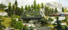 Unteres Appenfluher Tal - (Gleisplan S. 46 unten - Videos Seite 48, 56 63) *03.05.2020 Lebenszeichen!!!! - Stummis Modellbahnforum Model Train Layouts, Model Trains, Mai, Pictures