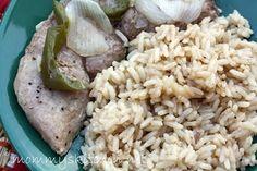 Trisha Yearwood's Oven Baked Pork Chops and Rice