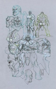 Thanos by Simone Bianchi *