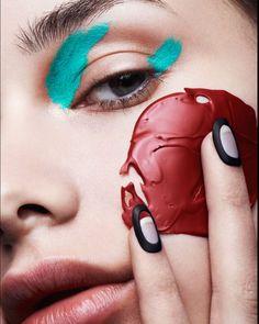 いいね!467件、コメント4件 ― Beauty Archive Magazineさん(@beautyarchiveofficial)のInstagramアカウント: 「/ No Face / #BAexclusive Photo Credit: : @moisesartnyc #hair: @thisisclay  : @joshua.pestka…」