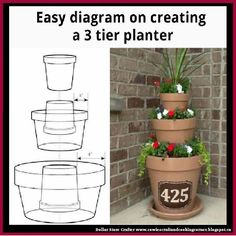 Nature Friendly Ideas for DIY Recycled Planters to Beautify Your Front Lawn . 33 Nature Friendly Ideas for DIY Recycled Planters to Beautify Your Front Lawn . 33 Nature Friendly Ideas for DIY Recycled Planters to Beautify Your Front Lawn . Recycled Planters, Garden Planters, Planter Pots, Planter Ideas, Herb Garden, Planters For Front Porch, Diy Front Porch Ideas, Front Yard Flowers, Fairy Garden Pots