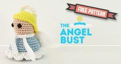 Free Amigurumi Angel Bust