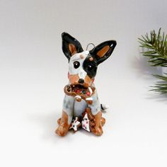 Hey, I found this really awesome Etsy listing at https://www.etsy.com/listing/200673254/australian-cattle-dog-christmas-ornament