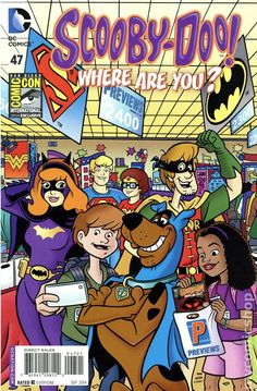 Scooby-Doo Where Are You? (2010 DC) 47SDCC