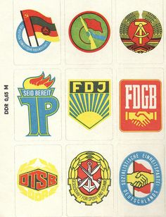 DDR Stickers