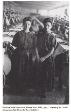The job my great-great grandmother did in a cotton mill in Lancashire, England.  Cotton weaver.