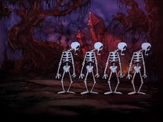 "adventurelandia: ""Skeleton Frolic (1937) """