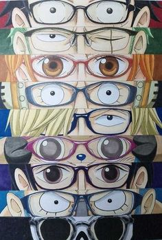 Strawhat Pirate's with glasses!