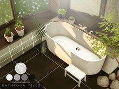 Pralinesims' Bathroom Tiles