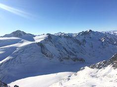 Winterlandschaft Pitztaler Gletscher