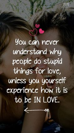 Who doesn't get a wee bit idiotic in love? Hearing that cackle of your insane lover disposes you toward the moronic. So here are 10 daft stupid love quotes! Stupid Love Quotes, Falling In Love Quotes, True Love Quotes, Best Love Quotes, Love Yourself Quotes, Love Quotes For Him, Me Quotes, Qoutes, Motivational Quotes