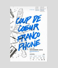 Established in 1987, this French festival has grown and now takes place in more than 30 Canadian English cities and features both local and international artists. To show the craziness of the festival and artists, we used random illustrations related to…