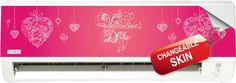 """Wall Mounted N Series with """"My Valentine"""" Skin"""