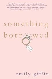 Something Borrowed by Emily Giffin.very good chick lit book.loved the book and the movie Beach Reading, Love Reading, Reading Lists, Book Lists, Reading Time, Reading Books, I Love Books, Good Books, Books To Read