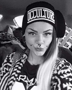 """Occulture"" Beanie & ""Occulture 666"" Mesh Tee Available at www.crmc-clothing.co.uk 