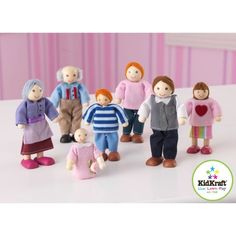 Kidkraft Doll Family of 7 @ Kiddicare.com