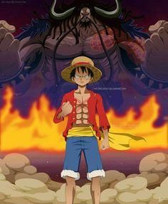 One Piece - Luffy vs Kaido by Melonciutus One Piece Anime, One Piece Film, One Piece Luffy, Monkey D Luffy, Mugiwara No Luffy, One Peace, Devian Art, Anime Tattoos, Awesome Anime