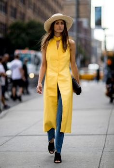 Yellow for the summer.
