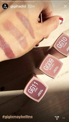 Gigi Hadid's Maybelline East Coast Glam Collection Has Arrived
