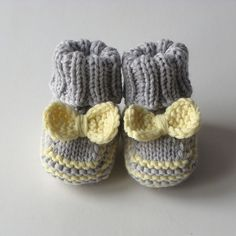 knit baby girl set hat and booties for girl set for by Tuttolv