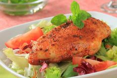 Spicy Baked Deviled Chicken Breasts