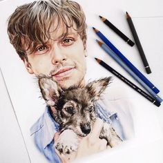 Matthew Gray Gubler color pencil drawing by Elle Wills ( Matthew Gray Gubler, Color Pencil Art, Pencil Illustration, Prismacolor, Cool Artwork, Art Sketches, Colored Pencils, Art Photography, Artsy