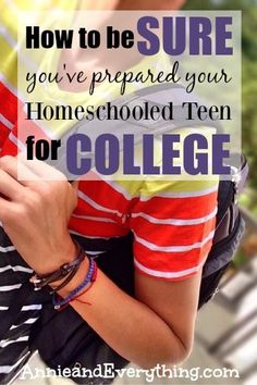 Two pretty basic college related questions for people involved in homeschooling?
