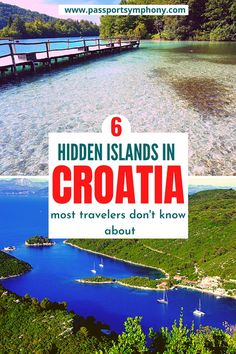 Hidden islands in Croatia most travelers don't know about Europe Destinations, Europe Travel Guide, Amazing Destinations, Travel Guides, Travel Hacks, Visit Croatia, Croatia Travel, France, European Travel