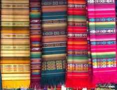 united colors of Otavalo - Otavalo, Imbabura by Wolfgang Glebe