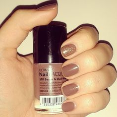 brown fall catrice nails