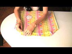 Easy Easy pillowcase dress for little girl.