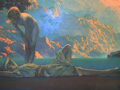 """""""Daybreak Series"""" by Maxfield Parrish"""