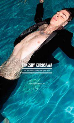 Takeshy Kurosawa Spring/Summer 2013 Campign - http://youtu.be/ev_KZXFfZgg