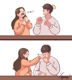 Trying to get your attention. Love Cartoon Couple, Cute Couple Comics, Couples Comics, Comics Love, Cute Love Cartoons, Cute Couple Art, Anime Love Couple, Cute Comics, Cute Couples