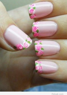 The Rose French Manicure #ManicureMonday #Nails