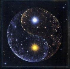 Yin Yang Universe = The Balance within. Is to Balance both polarities within. We all have both, the goal is to balance individually yet, together as Oneness with all of Humanity the Love, Divine of both. #Equality #New Earth