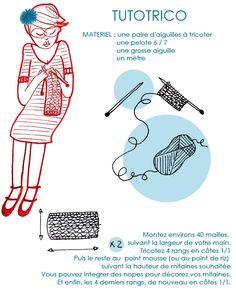 tutotrico : comment tricoter des mitaines ?
