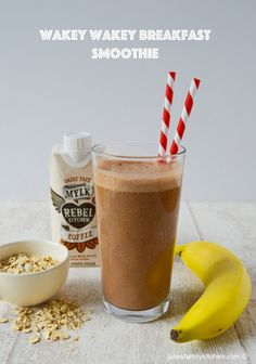 Wakey Wakey Breakfast Smoothie (July Degustabox)