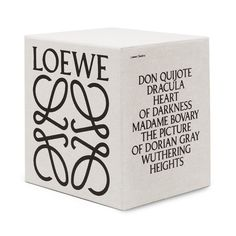 """Loewe presents a series of literary classics. The box set includes 6 classic novels with cover sleeves featuring archive photographs by Steven Meisel which originally appeared in various editorials. Design Food, Web Design, Layout Design, Logo Design, Sleeve Packaging, Print Packaging, Box Packaging, Packaging Design Box, Cosmetic Packaging"