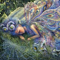 Caught By A Sunbeam - Josephine Wall 