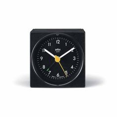 Dietrich Lubs Ab1 Alarm Clock 1987 Braun Germany Braun Clock Braun Design Clock