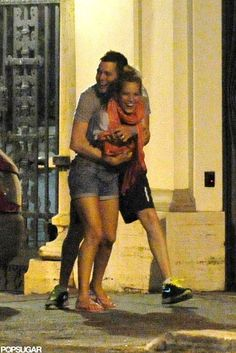 See Michael Bublé's Sweetest Moments With Wife Luisana Lopilato: Michael Bublé hugged Luisana Lopilato during a night out in Rome in August 2012.