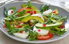 We put a California spin on a classic Italian salad. It's the perfect light lunch or starter.