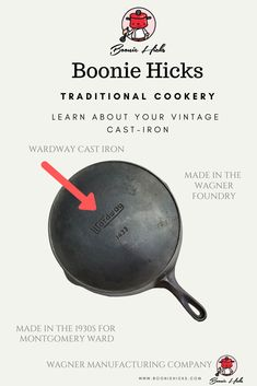 Wagner cast iron or Wagner Ware are some of the finest vintage cast iron cookware. Learn the history, dating, logos of Wanger Manufacturing Company.