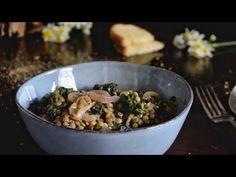 Φακές σαλάτα με σπανάκι. Μια πανδαισία χωμάτων, πλούσιων σε θρεπτικά συστατικά έρχεται να μετατραπεί από μια σαλάτα σε ένα πλήρες γεύμα! Youtube, Youtubers, Youtube Movies