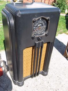 The 287 Best Old Radios S On Pinterest In 2018 Antique Radio. 1937 Zenith Black Dial 8 Tube Ebony 8s154 Console Radio Plays Burbank Oh Dlvry Ebay. Wiring. Zenith 8s154 Tube Radio Schematics At Scoala.co