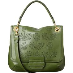 Orla Kiely Punched Wallflower Leather Ivy Bag and other apparel, accessories and trends. Browse and shop 16 related looks.